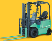 4-Wheel Electric Forklift|FB10CA - FB30CA
